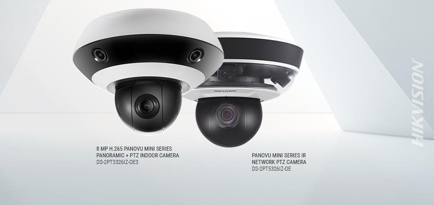 Hikvision North America Releases New Panovu Mini Series
