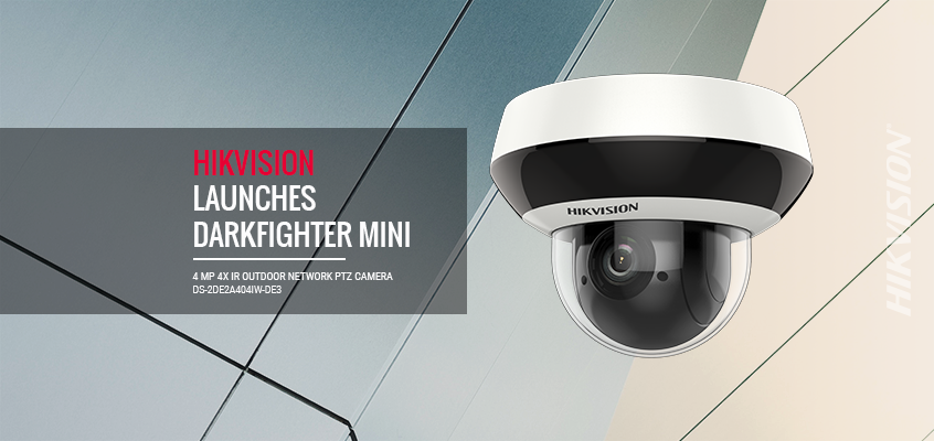 Hikvision North America Launches New 2.5-Inch DarkFighter Network Mini PTZ Surveillance Cameras