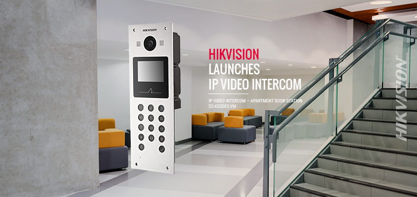 IP Video Intercom Helps Reduce Security Concerns, Improve Visibility Hikvision Launches IP Video Intercom Apartment Door Station with 120-Degree Angle of View HD Surveillance Camera