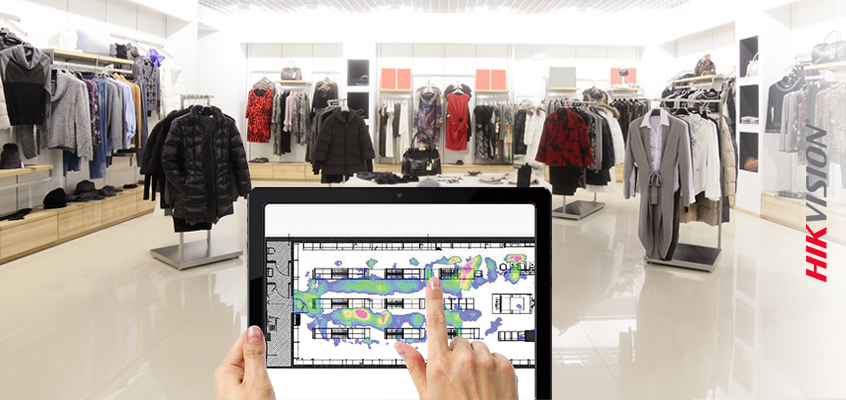 Hikvision HikWire blog article Heat Mapping Technology for Retailers: New Webpage