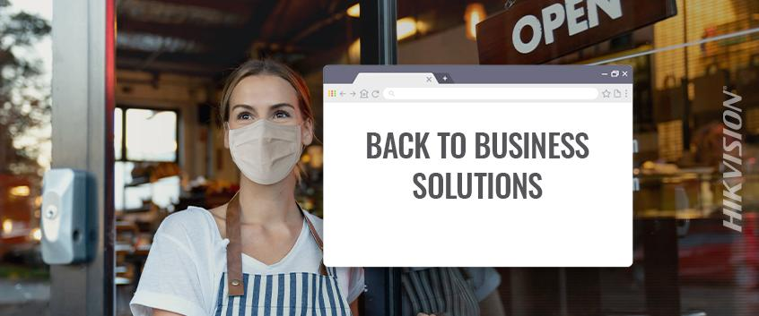 Hikvision HikWire blog article Back to Business Solution