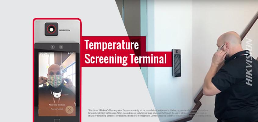 Hikvision HikWire blog article New Temperature Screening Terminal